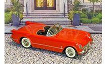 SW 013 Small  Wheels 1/43 Chevrolet Corvette Conv.Top Down 1953 Red, масштабная модель, scale43