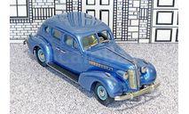 BC 006 Brooklin 1/43 Buick Special Plain Back 4-door Sedan M-47 Hard Top 1937 Blue met., масштабная модель, scale43