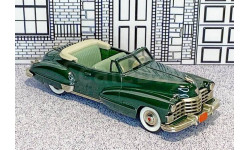 BRK 074 Brooklin 1/43 Cadillac Series 62 Conv.Top Down 1947 dark green
