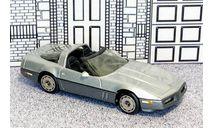 WP 108X Western  Models 1/43 Chevrolet Corvette T-top Conv.Top Down 1984 silver met., масштабная модель, Western Models, scale43