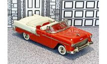 № 1-1599 Collector's Classics 1/43 Chevrolet Bel Air Conv.Top Down 1955 red, масштабная модель, scale43