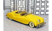 BRK 008 Brooklin 1/43 Chrysler Newport Phaeton Show Car Conv.Top Down 1940 yellow, масштабная модель, scale43