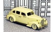 № 171/2 Tin Wizard 1/43 Packard Eight 4-door Sedan Hard Top 1937 beige, масштабная модель, scale43