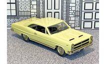 AA 18 American Classics 1/43 Mercury Comet Cyclone Coupe Hard Top 1966 light yellow, масштабная модель, scale43