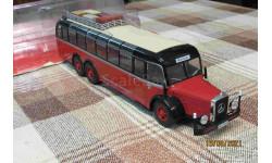 BC004 Hachette 1/43 Mercedes O10000 (1938) red/black