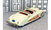 BRK 008A Brooklin 1/43 Chrysler Newport 'Indianapolis Pace Car' Conv.Top Down 1941 white, масштабная модель, scale43