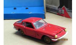 Москва 1/43 Maserati Mistral Coupe(металл)красный, масштабная модель, scale43