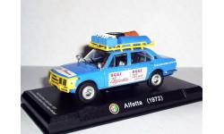 Alfa Romeo Alfetta Nordkap-Sydkap Raid 1972 Atlas 1/43 --- Альфа-Ромео Альфетта РАЛЛИ -рейд