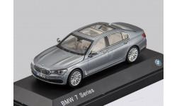 BMW 7-Series NEW 2016г. (G12) Jadi / Paragon 1:43 БМВ 7 серый мет./ GREY, масштабная модель, 1/43