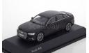 Audi A6 (С8) limousine i-Scale 1/43 Ауди А6 2019г. ЧЁРНЫЙ / BLACK  1:43, масштабная модель, scale43, iScale