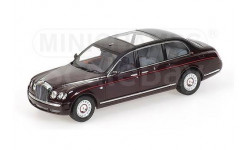 АКЦИЯ! СКИНУЛ 700р! И более - в хорошей компании...  *** Bentley State Limousine 2002 The Queen Elizabeth II Minichamps 1/43 RAR !! -  Бентли 1:43