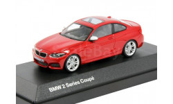 BMW 2er Coupe F22 Minichamps 1:43 --- БМВ 2-series 2014 купе  2дв. RED  / красный