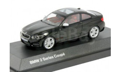 BMW 2er Coupe F22 Minichamps 1:43 --- БМВ 2-series 2014 купе  2дв.  black / чёрный