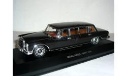 Mercedes-Benz 600 Pullman W100 IXO-classic 1/43 - - - Мерседес-600 Пульман.  1:43