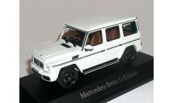 Mercedes-Benz G-class 2016г. G463 (W463) Norev 1/43 WHITE - - - Мерседес Джи-класс  Гелендваген  1:43 БЕЛЫЙ