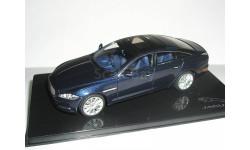 Jaguar XJ 2009г (X351) IXO 1/43 - - -  Ягуар Икс-Джей 1:43 т.синий / DARK BLUE SAPPHIRE, масштабная модель, scale43