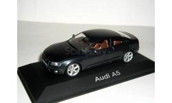 Audi A5 coupe 2007г (8T) Schuco 1:43 --- Ауди А5 спорткупе GREY / серая