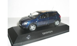 Nissan Qashqai J10 LHD  J-collection 1/43 Ниссан Кашкай  2007г ЛЕВЫЙ РУЛЬ! - т.синий 1:43