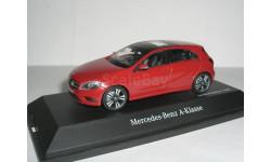 Mercedes-Benz A-class 2012 hatchback W176 Schuco 1/43 --- Мерседес А-класс 5дверей 1:43 красный / RED / rot