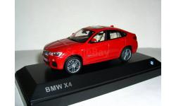BMW X4 (xDrive 3.5d) 2014года (F26) 1:43 Paragon/Jadi БМВ Бумер ИКС-4 RED, масштабная модель, scale43