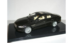 Jaguar XJ 2009г (X351) RHD IXO 1/43 - - -  Ягуар Икс-Джей 1:43 чёрный / BLACK