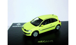 Renault Megane-2 Coupe 2003г «Phospho» Norev 1/43 --- Рено Меган-2 купе 1:43 ''ФОСФО - НЕОН'!!!, масштабная модель