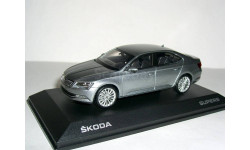Skoda Superb B8 (Superb-III - NEW) 1/43 - Шкода Суперб-3 - 2015г   1:43