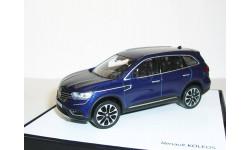 Renault Koleos-2 2016г. 1/43 Norev --- Рено Колеос 2016г. 1:43 кроссовер 4х4 SUW тёмно-синий/ BLUE, масштабная модель
