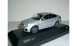 BMW X4 (xDrive 3.5d) 2014года (F26) 1:43 Paragon/Jadi БМВ Бумер ИКС-4 серебро, масштабная модель, 1/43