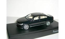 Volkswagen Passat 2015г. ( B8) sedan Herpa 1:43 BLACK VW --- Фольксваген Пассат Б8 NEW  чёрный металлик