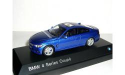 BMW 4er Coupe (F32) 1/43 БМВ  4-series 2013 купе  2дв.  blue / голубой, масштабная модель, 1:43, Jadi