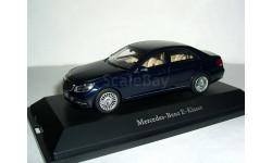 Mercedes-Benz E-klasse W212 restyle 2013 Kyosho 1:43 - - - Мерседес Е-класс  седан т.синий / d.blue