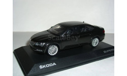Skoda Superb B8 (Superb-III) limousine 1:43 Шкода Суперб-3 - 2015г седан (лифтбэк) - ЧЁРНАЯ / BLACK !