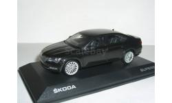 Skoda Superb B8 (Superb-III) limousine 1:43 Шкода Суперб-3 - 2015г седан (лифтбэк) - ЧЁРНАЯ / BLACK !, масштабная модель, 1/43, i-Scale