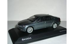 Skoda Superb B8 (Superb-III) limousine 1/43 Шкода Суперб-3 - 2015г седан GRAU !, масштабная модель, 1:43, i-Scale