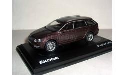 НГ+ СКИНУ! ... Skoda Octavia A7 combi NEW 2013г 1:43 Abrex Шкода Октавия-3 комби т.коричневая!