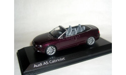 Audi A5 cabriolet Facelift 2012 Norev 1:43 Ауди А5 кабрио ... бордо