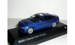 BMW 4er Gran Coupe (F36) 1:43 Kyosho  БМВ 4-series 2014 купе  5дв.  blue / голубой