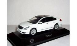 Nissan Teana J32 LHD 2009 J-collection 1-43 Ниссан Теана БЕЛАЯ левый руль
