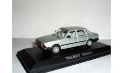 Talbot Solara 1980г. sedan Norev 1:43 --- Талбо Солара седан