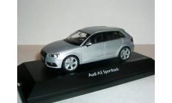 Audi A3 Sportback 5dr 2013г 1-43 Ауди А3 5двверей AUDI SILVER / серебро
