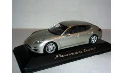 Porsche Panamera Turbo V8 2010г. Minichamps 1:43 - Порше Панамера Турбо