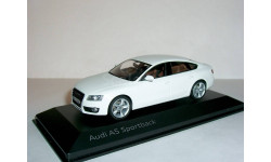 Audi A5 Sportback 3.2 quattro 2009  Schuco 1:43 --- Ауди А5 спортбэк (5 дв.) БЕЛЫЙ / WHITE