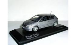 Toyota Corolla hatchback 3dr LHD 2001 Minichamps 1/43 --- Тойота Королла хэтч. 3 двери ЛЕВЫЙ руль!