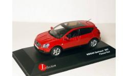 Nissan Qashqai LHD 2007г J-collection 1:43 Ниссан Кашкай ЛЕВЫЙ РУЛЬ! - красный.