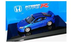 RAR!  Honda Integra Type-R 2001 Autoart  1/43  ---  Хонда Интегра, «горячая» версия 'R' 1:43 ярко-синяя / blue electric
