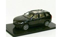 Volvo XC90 AWD Mk2 - 2nd gen. 2015года Norev 1/43 BLACK --- Вольво Икс-Си-90 новое поколение 4х4 ЧЁРНЫЙ 1:43 RAR, масштабная модель