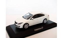 Mazda 6 limousine 2008 Norev 1/43 white RAR --- Мазда6 - седан! БЕЛЫЙ!! РАРИТЕТ!!! 1:43