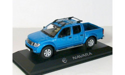 Nissan Navara D40 LHD Norev 1/43 ---  Навара Ниссан - тёмно-голубой металлик! РАРИТЕТ!!! 1:43