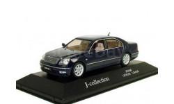 Lexus LS430 Mk3 J-Collection 1/43 --- 1:43 Лексус-430 2000г т.синий / D.BLUE, масштабная модель